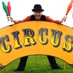 circus skills entertainer