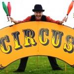 circus skills entertainer