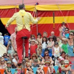 juggler performing a show