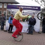 comedy unicyclist