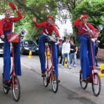 circus bike triple act