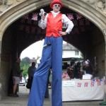 best of british stilt walker