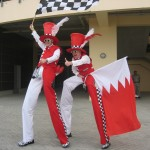 bahrain-flags-stilt-walkers