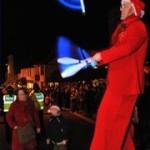 christmas glow juggler