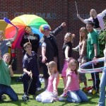 circus skills training in schools