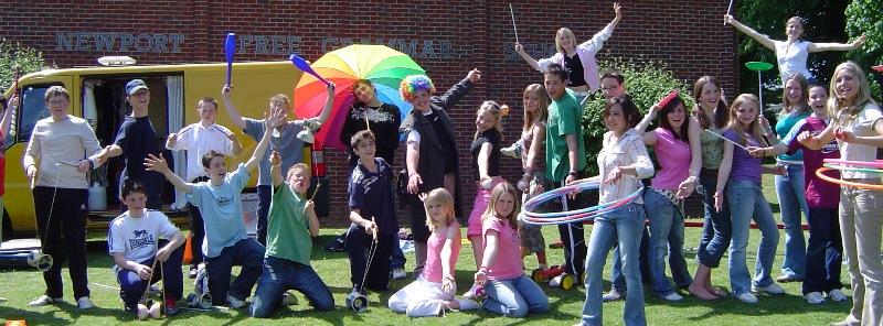 circus skills training in schools