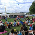 circus show at festival
