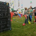 sign for circus skills workshop