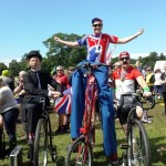 cycling entertainers