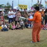 circus skills entertainer performing