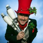 festive juggler