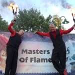 masters for flame, fire jugglers