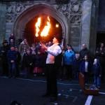 fire juggler - show