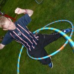 circus skills workshop, hula hooping