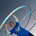 hooping at circus skills workshop