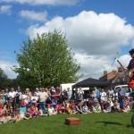 juggling show finale
