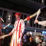 juggling trio