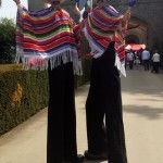 mexican themed stilt walker