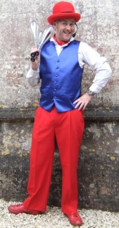 Solo Circus Best Of British Themed Entertainer Juggler
