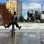 cycling entertainer, birmingham