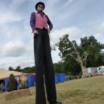 festival stilt walker / entertainer
