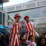 stilt-walking-entertainers