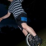 learning to unicycle at workshop