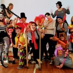 circus skills activity for hen party