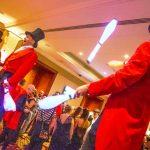 greatest showman glow jugglers