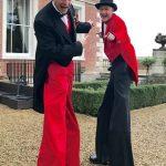 greatest-showman-stilt-walkers